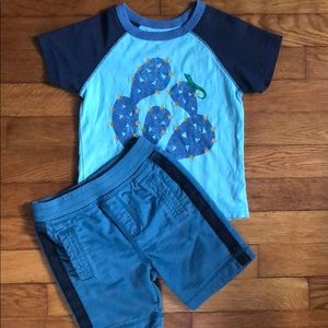 Tea Collection 2T boys outfit